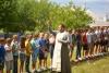 Освячення дітей табору